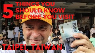 Download Taipei, Taiwan - 5 Things You Should Know Before You Visit Video