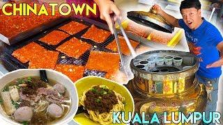 Download MIND BLOWING Street Food in CHINATOWN Kuala Lumpur Malaysia Video
