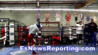 Download Mikey Garcia Sparring Fabian Maidana - esnews boxing Video