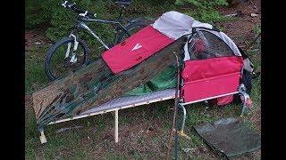 Download DiY Fahrrad-Camper // Erste Ausfahrt Video