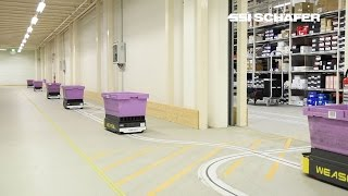 Download Automated Guided Vehicle Weasel®, E-Commerce, Supply Chain, Hermes Fulfilment GmbH Video