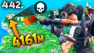 Download 4161m NEW LONGEST RECORD KILL..!!! Fortnite Daily Best Moments Ep.442 Fortnite Battle Royale Funny Video