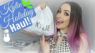 Download Kylie WHOLE Holiday Collection Haul & Unboxing!! Video