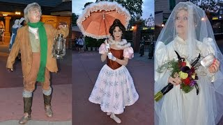Download Haunted Mansion Characters Meet at Magic Kingdom Private Event, Constance, Hitchhiking Ghosts, Daisy Video