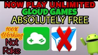 Download 😲unlimited time PLAY GLOUD GAMES absolutely free💀 Video