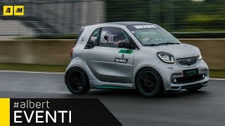 Download Smart Brabus IN PISTA per i 15 anni del marchio con BERND MAYLANDER Video