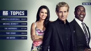 Download UNDISPUTED Audio Podcast (3.29.17) with Skip Bayless, Shannon Sharpe, Joy Taylor   UNDISPUTED Video