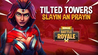 Download Tilted Towers Slayin an Prayin - Fortnite Battle Royale Gameplay - Ninja Video