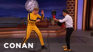 Download Steven Ho Teaches Conan How To Fight Like Bruce Lee - CONAN on TBS Video