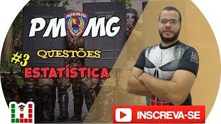 Download 🔴PMMG Estatística Questões #1 - Professor Tiago Gladstone Video