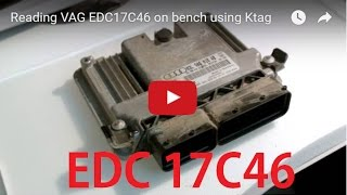 Download Reading VAG EDC17C46 on bench using Ktag Video