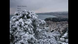 Download Chutes de neige remarquables à Nice (France) - 11 Février 2010 Video