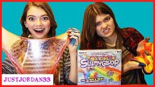 Download DIY Slime Vs Slime Kit Slime Rainbow Slime Making / JustJordan33 Video