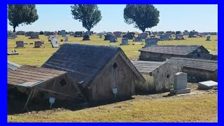 Download Spirit Houses In A Cemetery Video