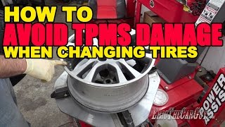 Download How To Avoid TPMS Damage When Changing Tires Video