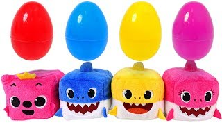 Download Sing along with Shark family~! Pinkfong Cube Shark family music dolls - PinkyPopTOY Video