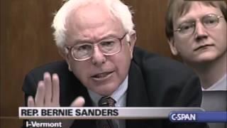 Download Bernie Sanders Confronts Alan Greenspan Video