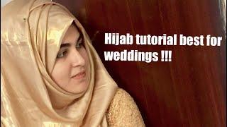Download WEDDING SEASON HIJAB TUTORIAL BY SHOMZ Video