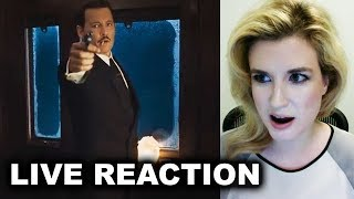 Download Murder on the Orient Express Trailer 2 REACTION Video