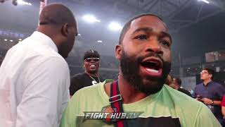 Download ADRIEN BRONER WALKS AWAY FROM INTERVIEW AFTER SHAWN PORTER QUESTION Video