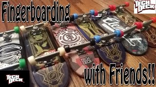 Download Fingerboarding with Friends!! Video