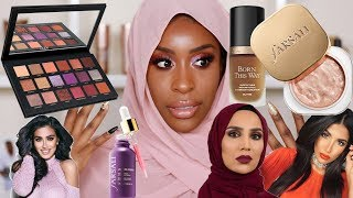 Download Full Face of Muslim Owned/Halal Beauty Products Tutorial! | Jackie Aina Video
