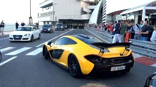 Download Top Marques Monaco Highlights - Supercars Tunnel Accelerations and Revving Video