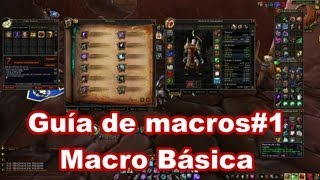 Download Curso de macros WoW#1 Macro básica. Video