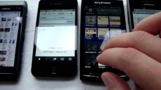 Download Android vs. Windows Phone 7 vs. iOS4 vs. Symbian 3 Browsing/Bootuptime (2011) Video