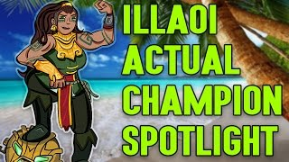 Download Illaoi ACTUAL Champion Spotlight Video