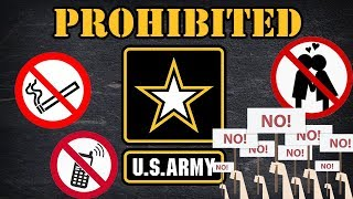 Download 5 things you cant do in an Army uniform Video