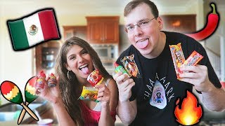 Download I TRIED MEXICAN CANDY AND THIS HAPPENED *SPICY* Video