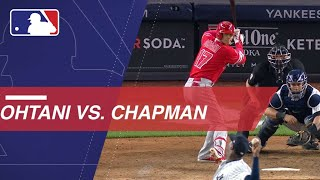 Download Shohei Ohtani takes on Aroldis Chapman in New York Video