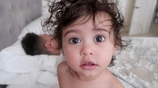 Download BABY REACTS TO DADDY TWERKING!!! Video