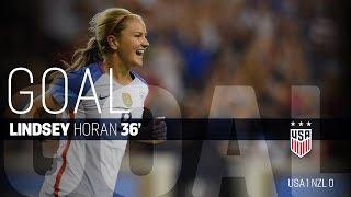 Download WNT vs. New Zealand: Lindsey Horan Goal - Sept. 19, 2017 Video