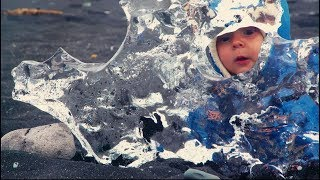 Download Baby Alessio's great adventures in Iceland Video