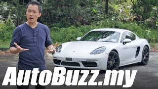 Download Porsche 718 Cayman 2.0 Turbo review - AutoBuzz.my Video
