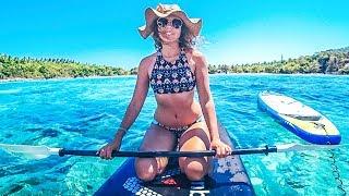 Download Приватная яхта на Пхукете. Водные лыжи, вейкборд и дайвинг Video