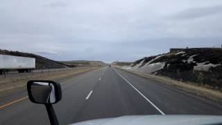 Download Bigrigtravels Live! - Rawlins, Wyoming to Rock River - Interstate 80 - February 19, 2017 Video
