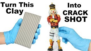 Download How To Sculpt CRACKSHOT from Fortnite (polymer clay tutorial) Video