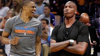 Download Russell Westbrook ROASTS Chad Johnson After Being Challenged to 1-on-1 Game Video