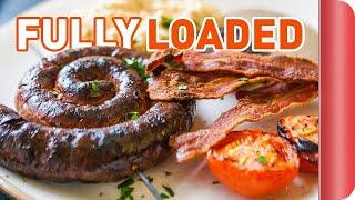 Download Fully Loaded English Breakfast Recipe   Big Night In Video