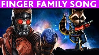 Download Finger Family GUARDIANS OF THE GALAXY Finger Family NURSERY RHYMES song Video