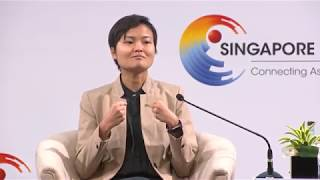 Download 'We welcome competition,' says Grab co-founder Tan Hooi Ling   Singapore Summit Video