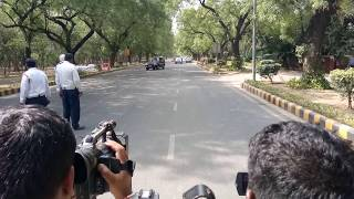Download Impenetrable SPG Security Cover : How PM Narendra Modi's cavalcade move in India Video