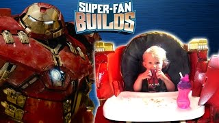 Download HulkBuster Highchair (The Avengers: Age of Ultron) - SUPER FAN BUILDS Video