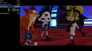 Download Crash Twinsanity any% in 14:19 WR Video