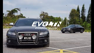 Download Genting Run Review: 2009 Audi S4 Avant with DNA Tuning | Evomalaysia Video