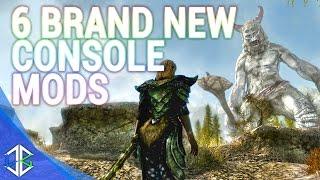 Top 5 Console Mods 1- Armour Mods - Skyrim Special Edition