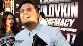 Download Michael Pena does hilarious impression of Robert Garcia! Hyped for Broner vs. Garcia! Video